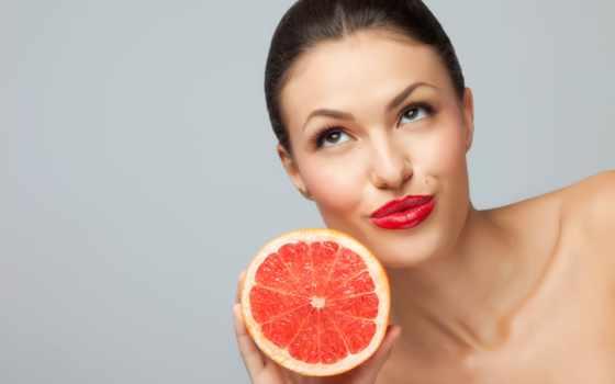 грейпфрута, лица, маски, грейпфрут, маска, морщин, рецепты,