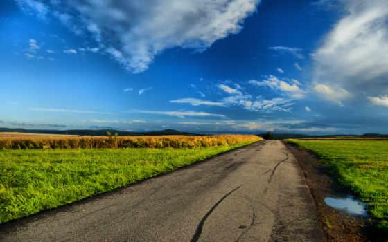 природа, landscape, красавица, небо, ultra,