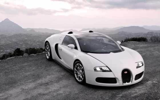 bugatti, geneva, veyron, xammer, white, standard, изображения, lux, машины, спорт, капюшон,