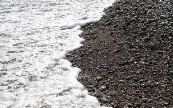 галька, закат, море, пляж, summer, marine, песок, заставка, камень, structure, blue