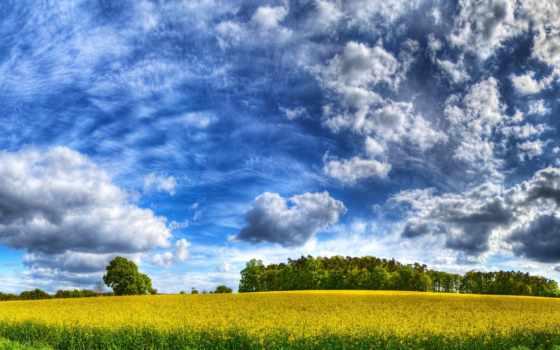 paisajes, nubes, naturaleza, fondos, hierba, campos, pantalla, gratis, hdr, cielo,