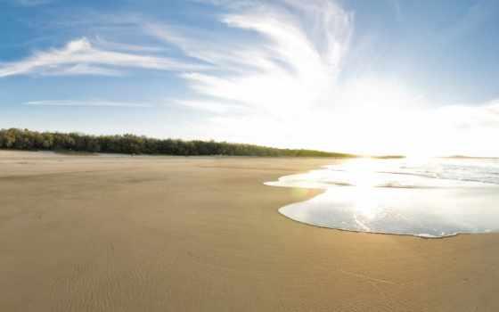 пляж, море, песок, devushki, камни, сёрфинг, dual, экран,