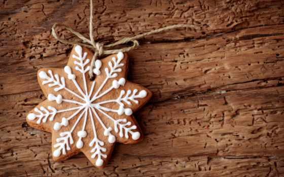 cookie, новогоднее, год, new, выпечка, праздник, звезды, бант, ленточка, star,