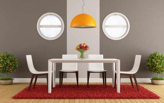 design, комната, dining, интерьер, stylish, современный, стиль, house, стульев, minimalist,