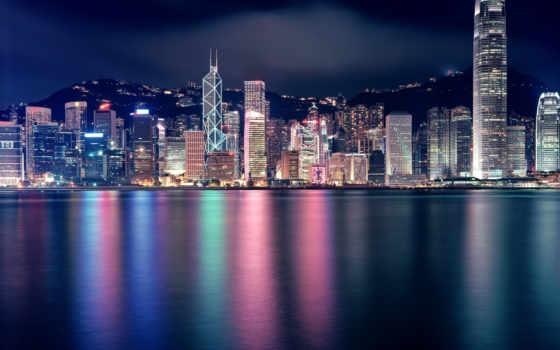 город, ночь, города