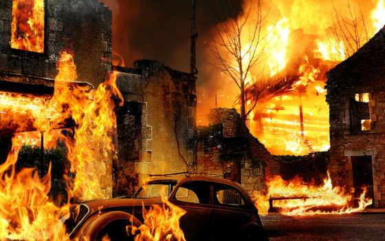 огонь, пожаров, creativ