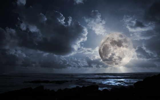 ночь, луна, fantastic, coupe, лунно, oblaka, alcatel, полнолуние,