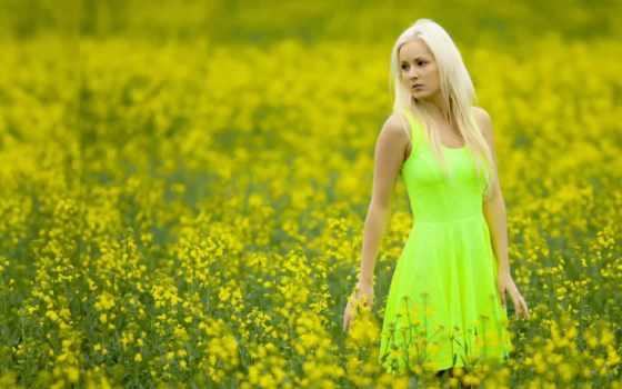 девушек, поле, rzepaku, яndex, tatyana, фотографий, огни, платье,