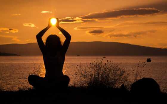 йога, день, международный, тема, фон, закат, сафари, природа, enjoy, kenya
