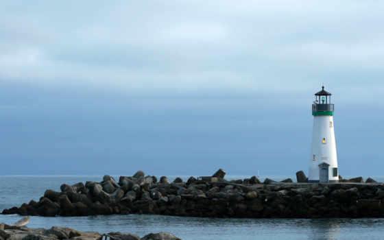 маяк, небо Фон № 8957 разрешение 1920x1080