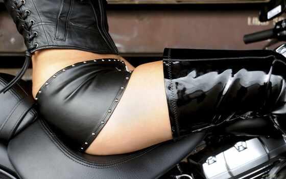 мотоцикле, девушка, devushki, мотоциклы, сидит, мотоциклами, банка, одежде, коне,