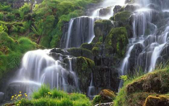 природа, природы, водопад, scotia, машины, шотландии, пейзажи -, природой, страница, devushki,