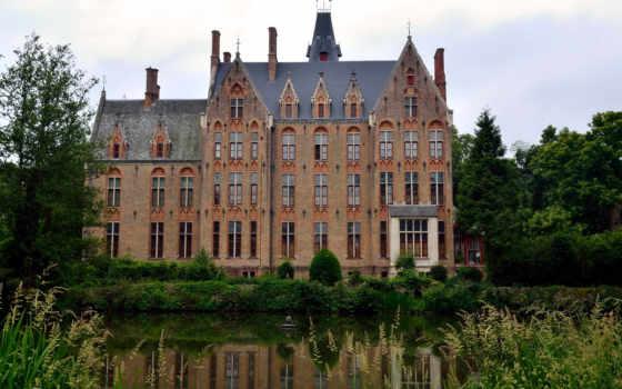 castle, loppem, бельгия, castles, замки, pinterest, города, шотландия, cities,