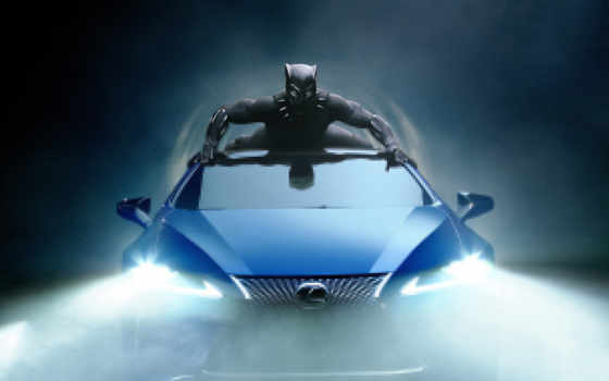 lexus, black, panther, супер, чаша, commercial, marvel, extended,