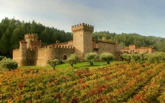 замки, castle, городов, соборы, заставки, красивые, вина, достопримечател,