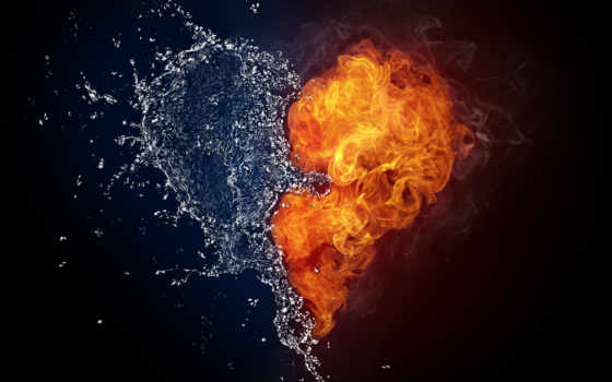 огонь, сердце, dark, ответить, free, назад, month, water, valentine, святая