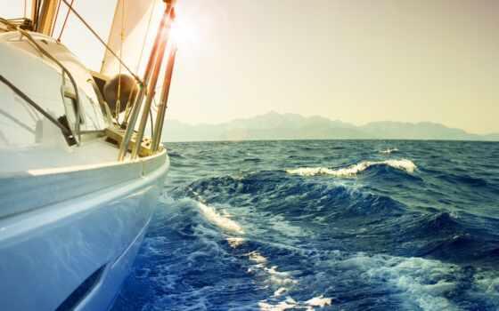 яхта, океан, парусник, more, korabl, волна, морской, parusnyi, ветер, лодка, яхта