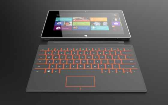 microsoft, surface, logo, tablet