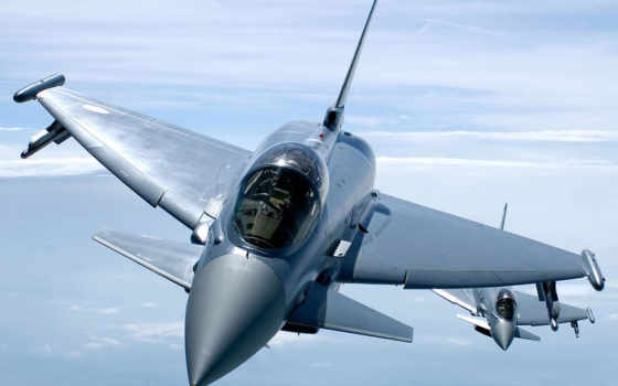 typhoon, истребитель, eurofighter