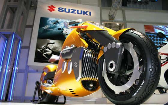 suzuki, мотоцикл, biplane