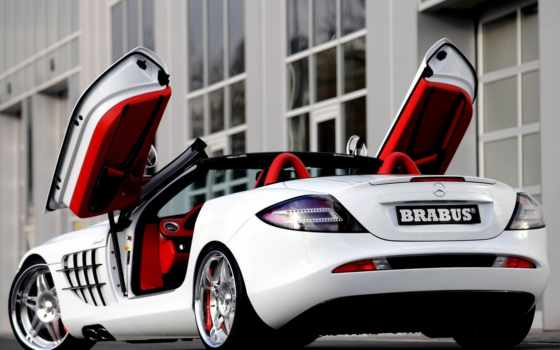mercedes, slr, mclaren, benz, brabus, roadster, more, об, dream,