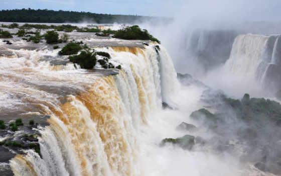 водопады, игуасу, falls, водопадов, фотографий, шикарные, картинка, бесплатные, природа, моей, цитата,