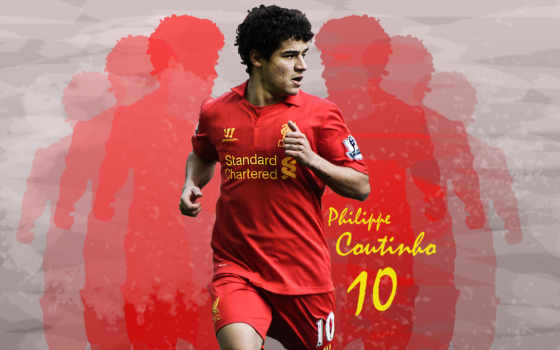coutinho, philippe, ливерпуль, коутиньо, desktop, art, brazilian,