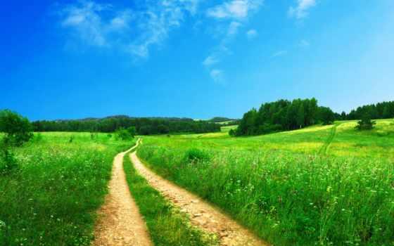 summer, landscape, дороги, дорога, удивительно, красивый, свой, free, коллекция, пользователя,
