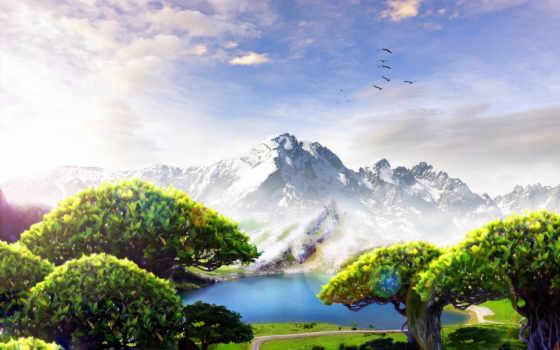 природа, красивые, места