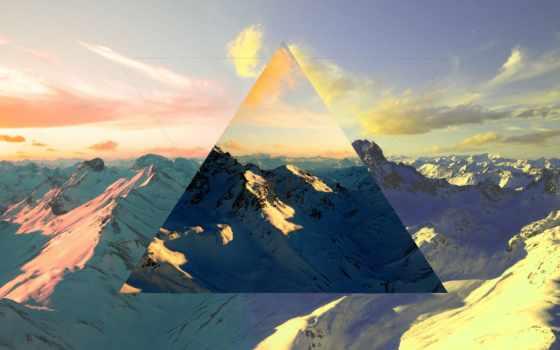 горы, full, вершины