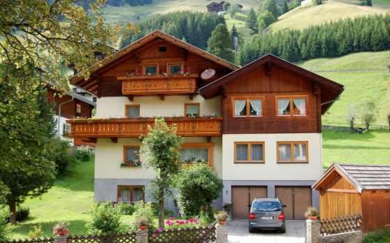 австрии, austrian, дома, house, города, улочки, красоте, удивительная, недвижимости, country,