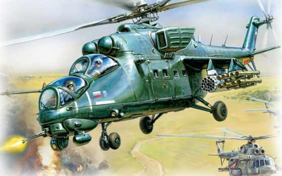 ми, вертолет Фон № 698 разрешение 1280x1024