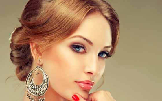 серьги, украшения, ожерелье