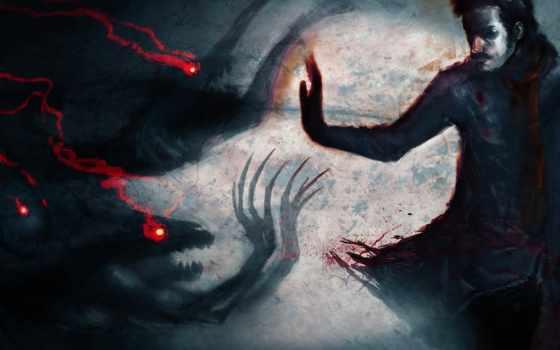 art, фантастика, демоны