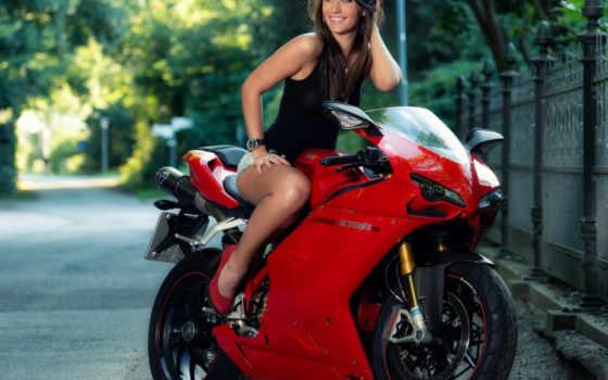 ducati, мотоцикл, дорога
