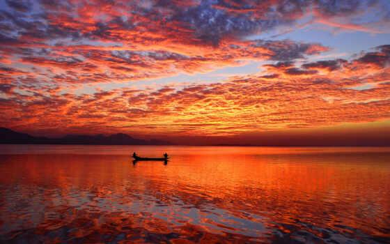 закат, взгляд, порою, фото, небо