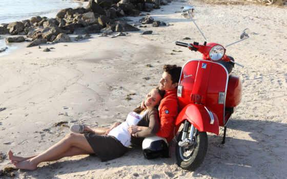 красивый, мопед, мотороллер, девушка, пхукет, stokovyi, фото, мотоцикл, экскурсия, остров