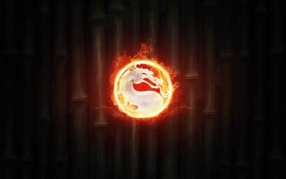 mortal, kombat, fire, логотип, комбат, бамбук, картинка,