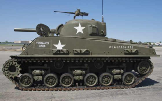 sherman, танк, средний