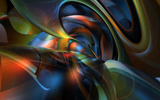 абстракция, рендер, графика