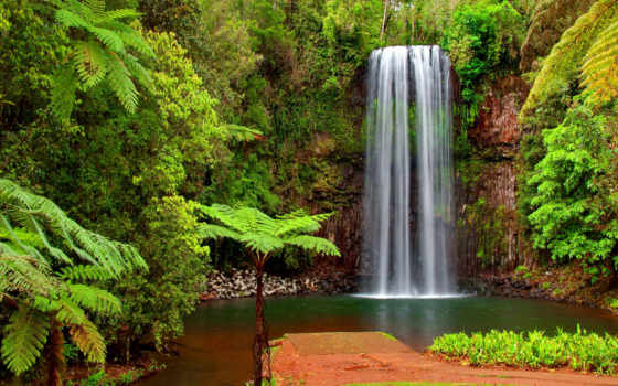 fonds, ecran, eau, cascades, каскад, fond, водопад, hidden,