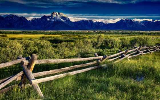 landscape, mountains, гора