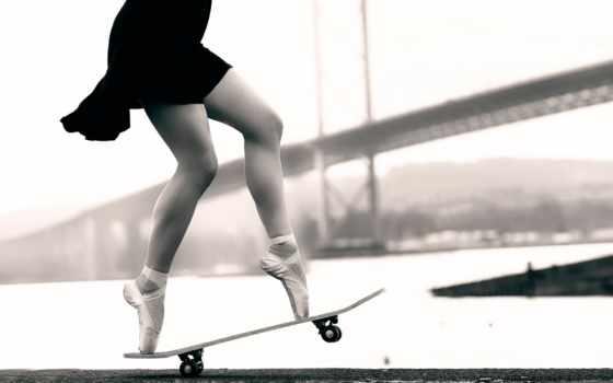 высоком, яndex, балерина, балет, skateboard, скейтборде, пуанты, ножки, коллекциях, балерин,