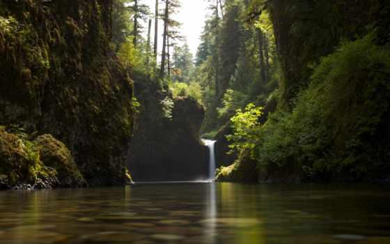 природа, водопад, summer, нота, foto, другой