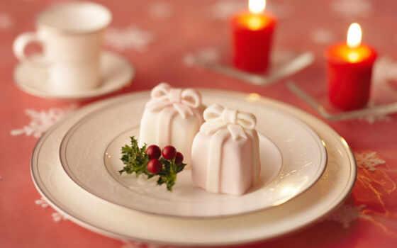 коллекция, новый год, десерт, палуба, card
