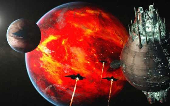 космос, планеты, луна, спутник, landscape, скинали,