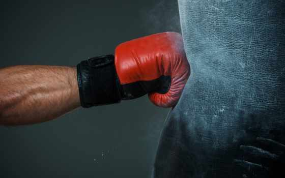 ,перчатка, груша, боксерская груша, удар,