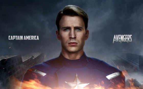 captain, america, chris Фон № 120610 разрешение 1920x1200