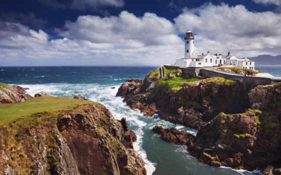 lighthouse, desktop, landscape,