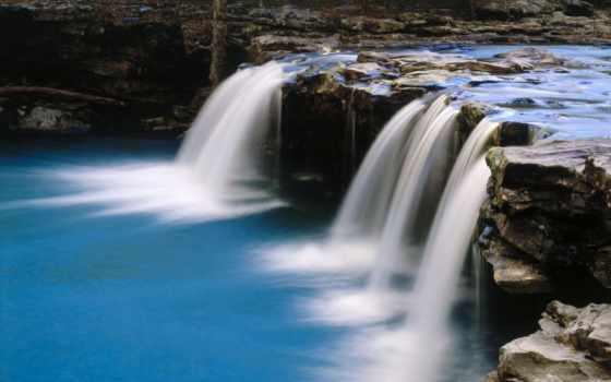 водопад, водопады, камни Фон № 152410 разрешение 1680x1052